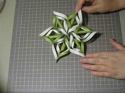 Snowflake Star Ornament.wmv