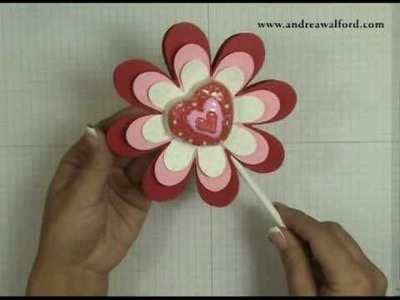 Stampin' Up! Tutorial: Valentine's Cookie Bouquet