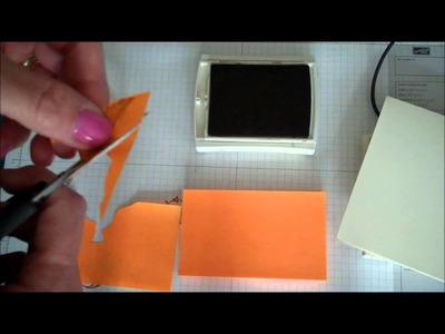 Stampin' Up! Two Minute Technique:  Masking for Beginners