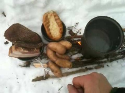 Traditional Finnish Woodsman Food
