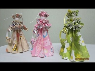 TUTORIAL - How to make 3-D Paper Doll (Edwardian Lady)