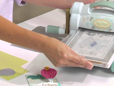 Using Sizzix Thinlits Dies w.Big Shot to create boxes, folds and more