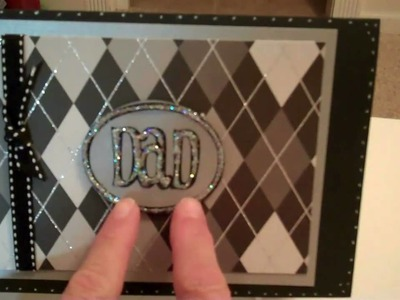 Video  14 Dad's Day card + envelope with gift card holder