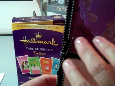 Video 3 Valentine Card using Cricut, Hallmark Card Studio