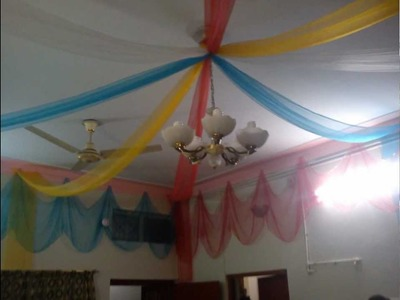 Home Decoration On Wedding Ceremony In Lahore
