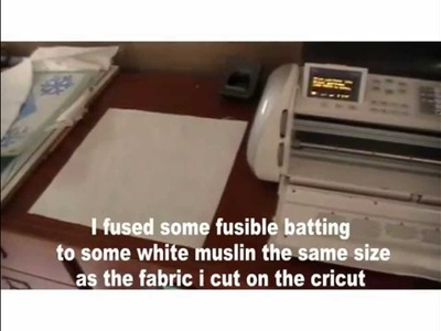 How to cut fabric on your cricut
