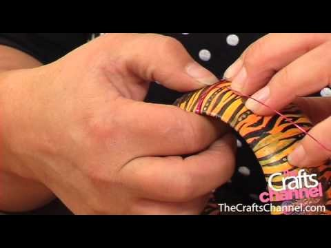 How to decorate a bangle (bracelet) - Part 03