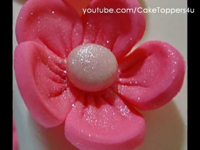 How to make Five Patels  Flower? Easy and simple steps tutorial
