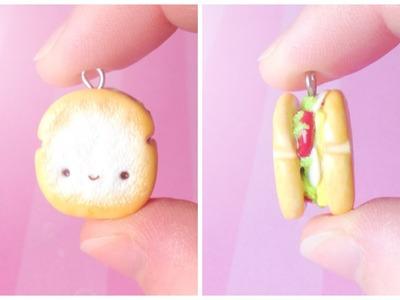 Kawaii Sandwich │ Polymer Clay Tutorial