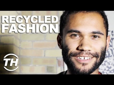 Recycled Fashion - Trend Hunter Trenton Millar Goes Behind-the-Scenes on the Bathroom Tissue Runway