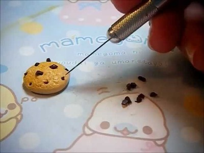 Clay Chocolate Chip Bear Cookie Tutorial!