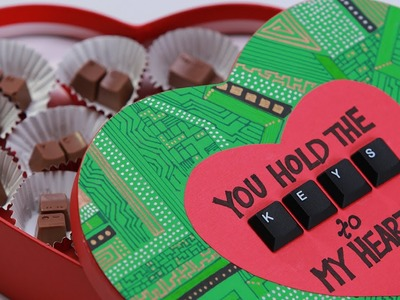 COMPUTER KEYBOARD CHOCOLATES - NERDY NUMMIES
