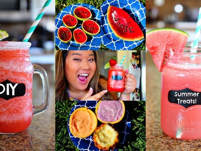 DIY Easy & Cute Summer Treats! #DIYwithRemi
