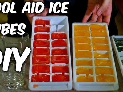 DIY Kool Aid Party Ice Cubes