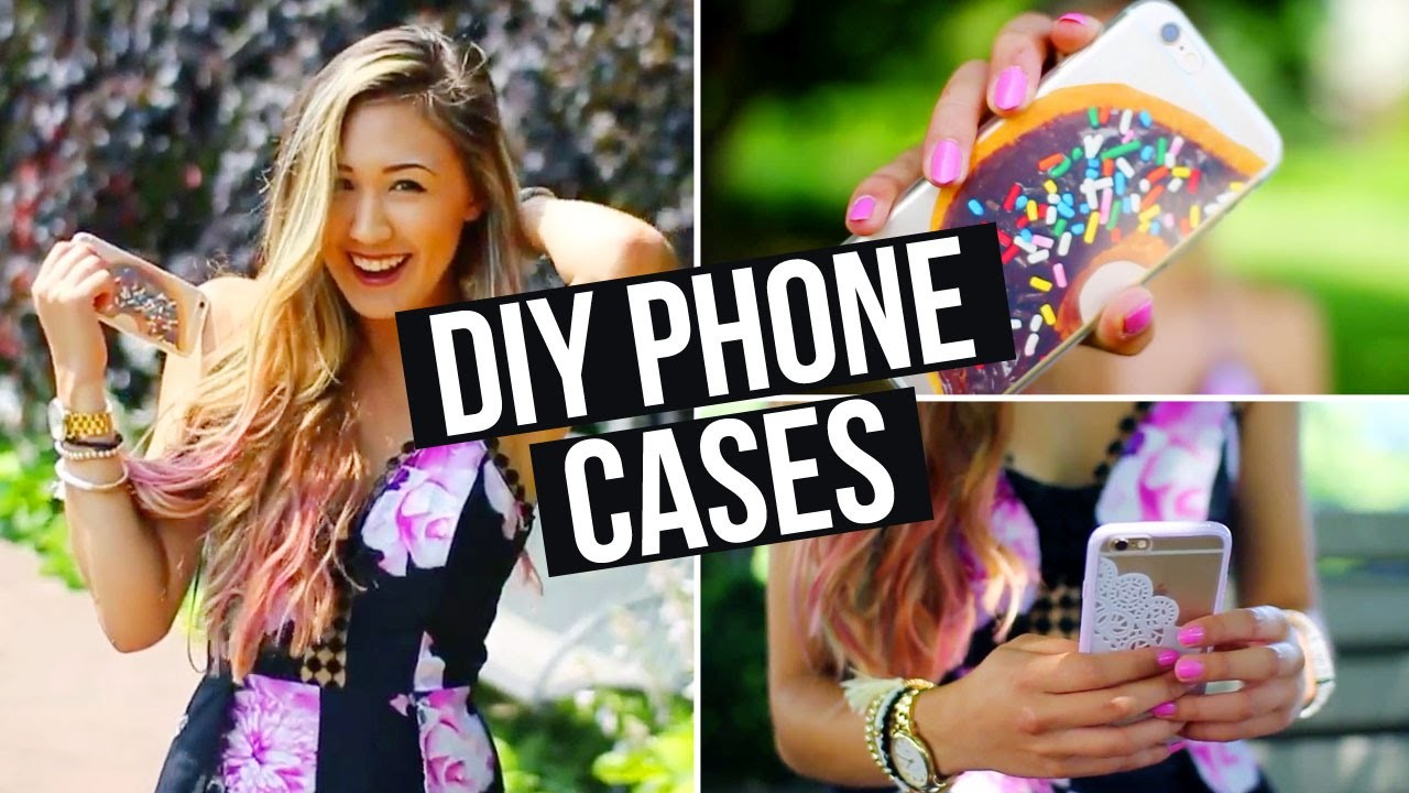 DIY Phone Cases, What's on my iPhone + How I Edit Pictures! | LaurDIY