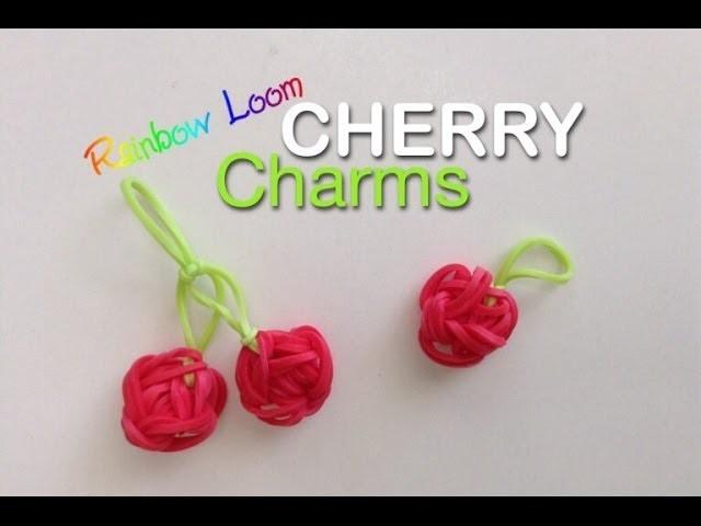 EASY Rainbow Loom Cherry Charms