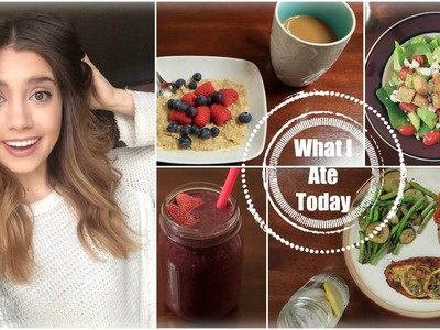 Get Healthy With Me | What I Ate Today!