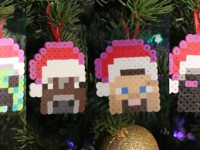 Minecraft 8 bit Christmas Ornaments - DIY GEEKY GOODIES