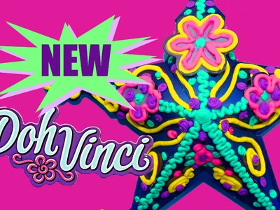 NEW Play Doh Vinci Brand New Play Dough Clay Star Door Hanging DisneyCarToys