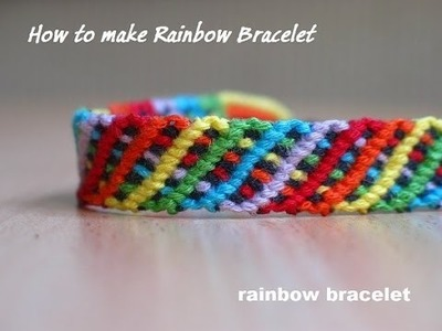 Rainbow Bracelet, HEXAFISH, Hand braslet design