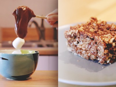 You Need Nutella Rice Krispie Treats In Your Life