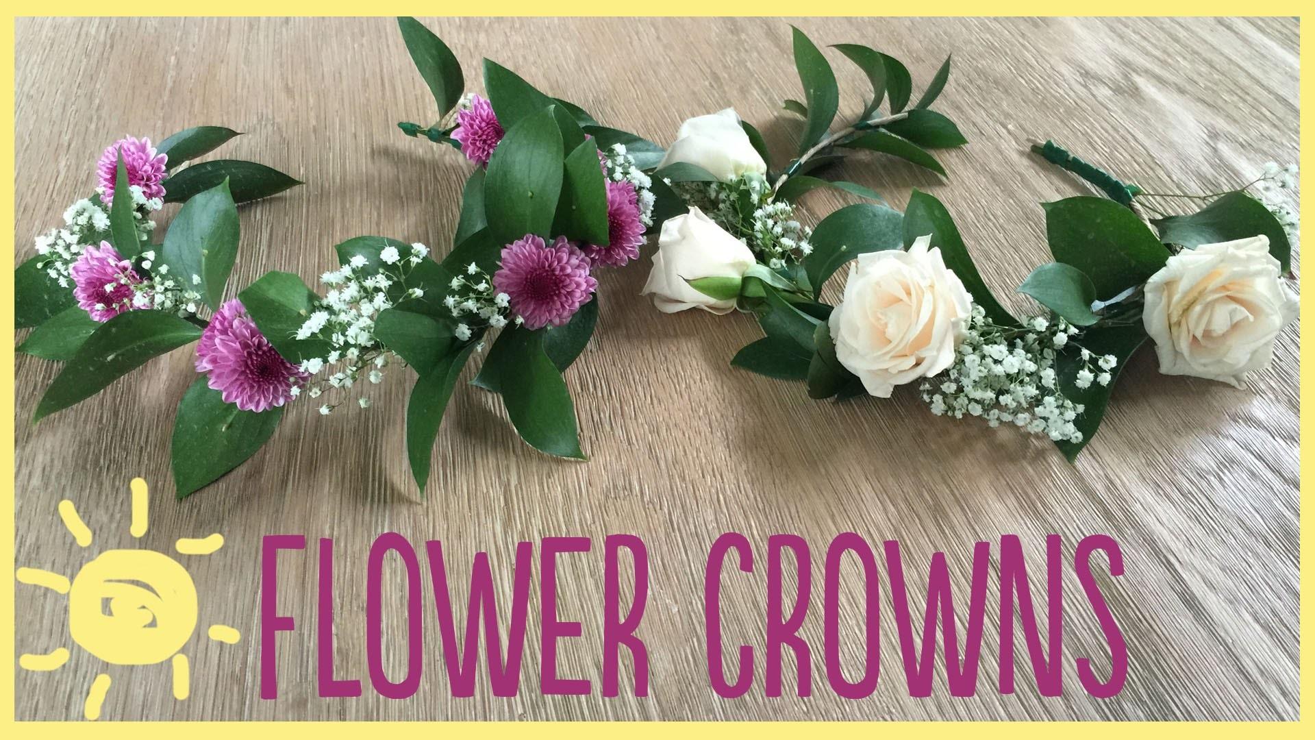 DIY | Flower Crowns (Gorgeous & Easy!!)