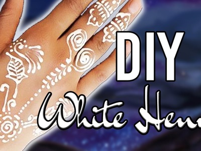 EASY DIY WHITE HENNA - ONLY 2 INGREDIENTS!