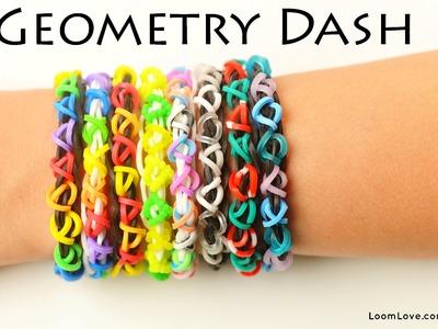 How to Make a Geometry Dash Rainbow Loom Bracelet (EASY!)