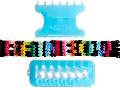 How to Make a Rainbow Loom Name Bracelet on the Alpha Loom