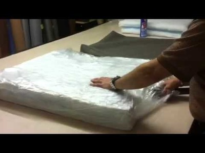 How to stuff a couch cushion