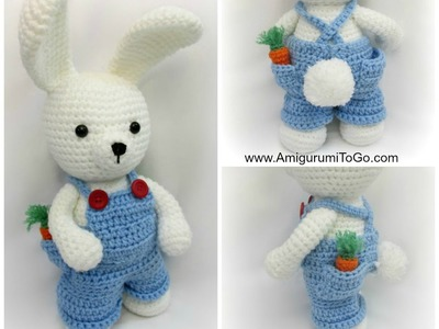 Overalls For Dress Me Bunny
