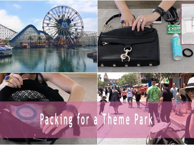 Packing For Theme Parks (My Purse + Tips 4 Moms) | Rachel Talbott