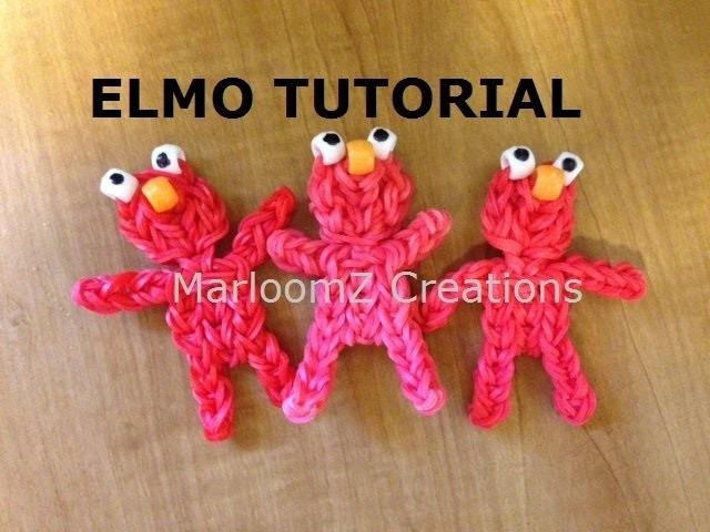 Rainbow Loom Elmo doll or Charm