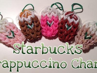 Rainbow Loom Starbucks Iced Coffee Strawberry Frappuccino Frappe Charm