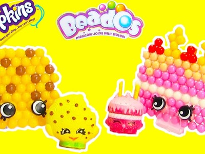 Shopkins Beados Tastee Bakery Activity Pack with Wishes and Kooky Cookie