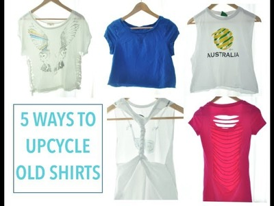 5 Ways to Upcycle Old Shirts