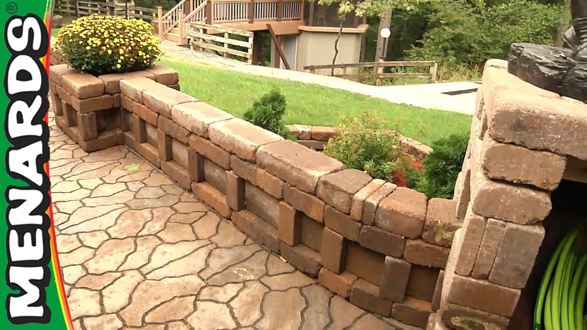 Curved Wall Planter - How To Build - Menards