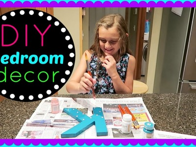 DIY LETTER BEDROOM DECOR