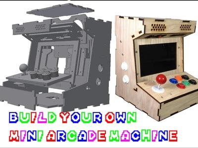 DIY Mini Arcade Cabinet (Porta Pi 9inch) Assembly Guide Update!