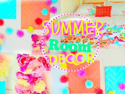 DIY Summer Room Decor 2015 ♡ Tumblr & Pinterest Inspired!