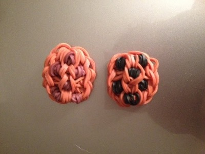 How to Make a Cookie Charm on the Rainbow Loom - Original Design