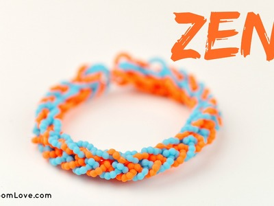 How to Make a Zen Rainbow Loom Bracelet