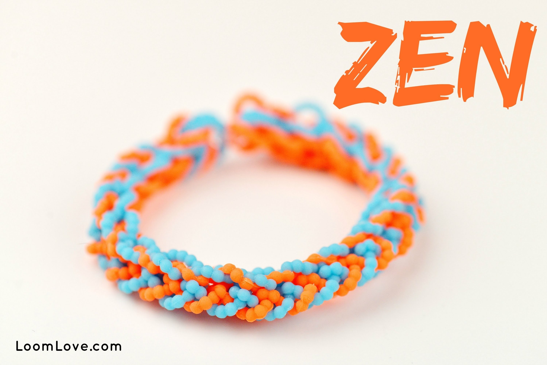 How to Make a Zen Rainbow Loom Bracelet
