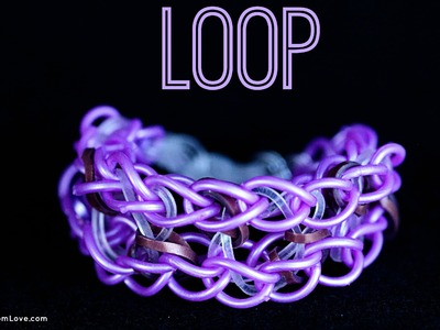 How to Make the Loop Rainbow Loom Bracelet
