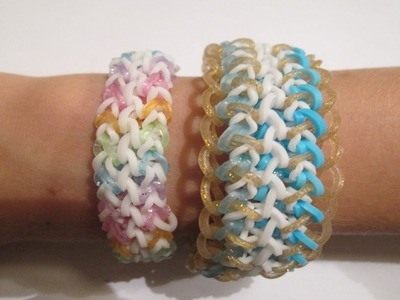 Monster Tail- How to make the Renee and Claire Bracelets (Original Designs)