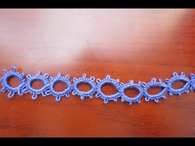 Needle Tatting Split Ring (SR)
