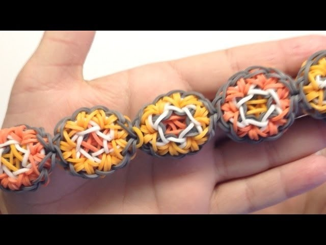 *NEW!* Hexapop Bracelet Tutorial on the Rainbow Loom
