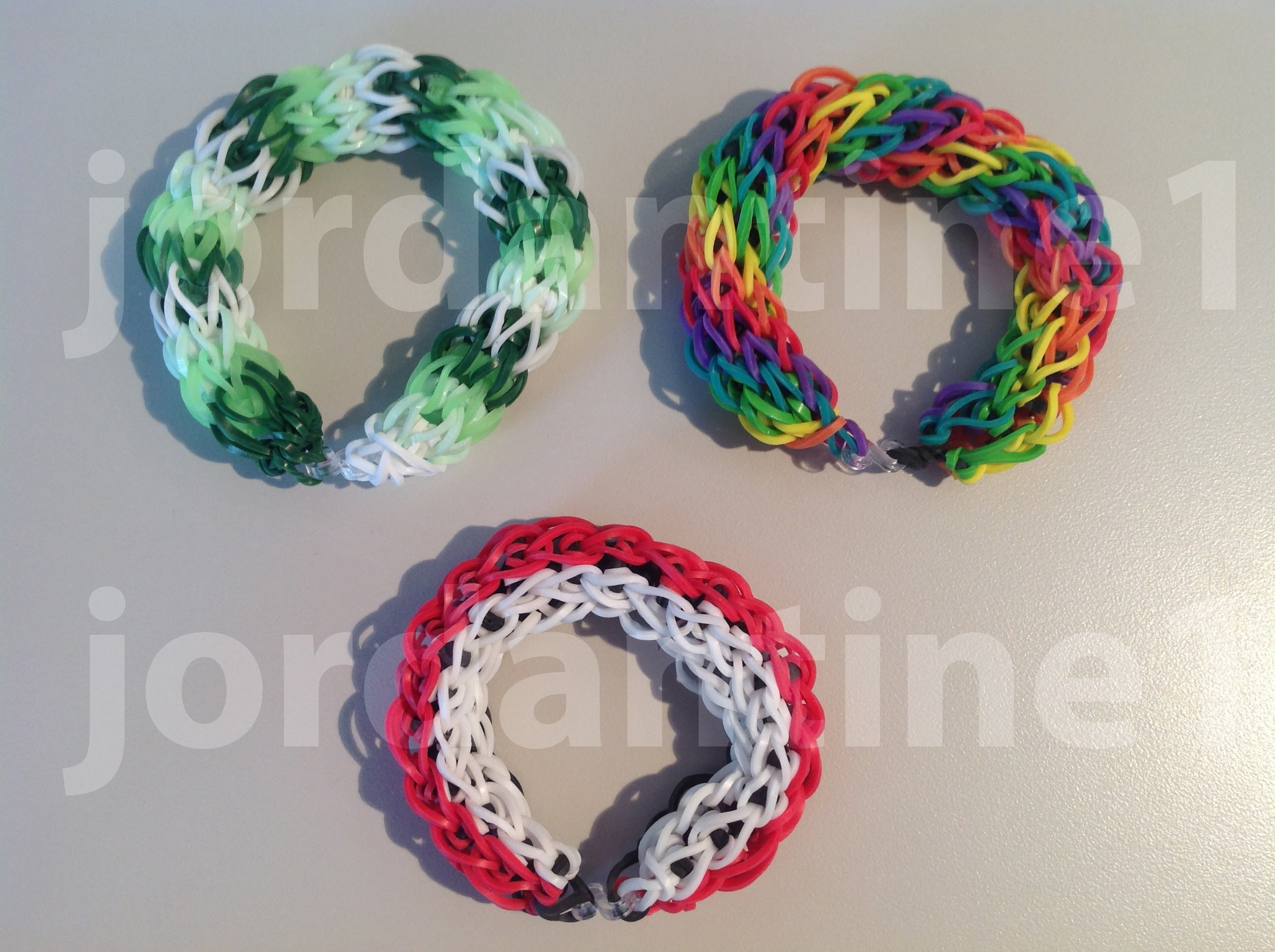 New Hollow Circle Bracelet - Rainbow Loom, Cra-Z-Loom, Bandaloom