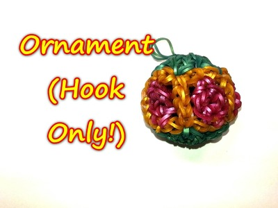 Ornament (HOOK ONLY) Tutorial by feelinspiffy (Rainbow Loom)
