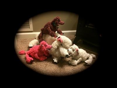 Part 5.6 Rainbow Loom Diva.Diamond Poodle (3 Looms)